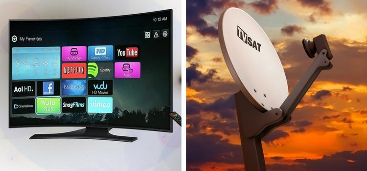 Hablamos de las diferencias entre la tv satélite y por cable