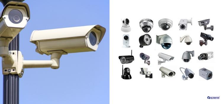 conoce los diferentes tipos de cámaras de videovigilancia