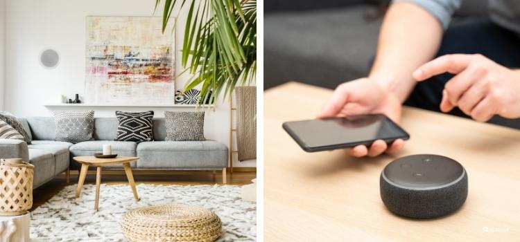 El hilo musical puede ser a través de wifi o bluetooth