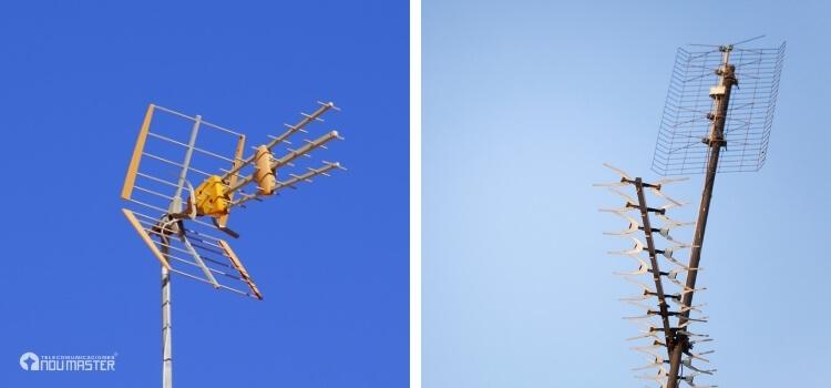 Tipos de antena aérea que existe